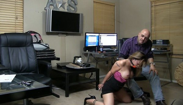 Bondage for Dessert Part 1 - Handcuffs and Heels.mp4---