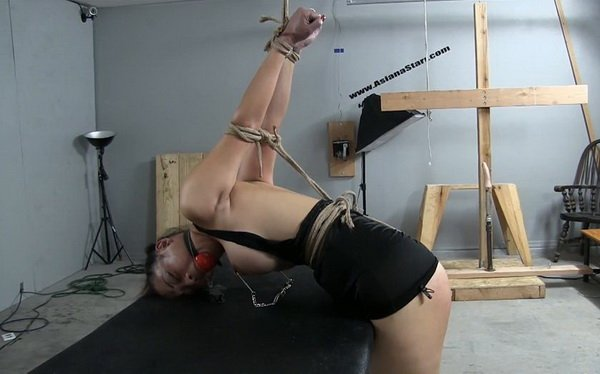 Asianastarr Spontaneous Bondage On The Fly One With The -1303