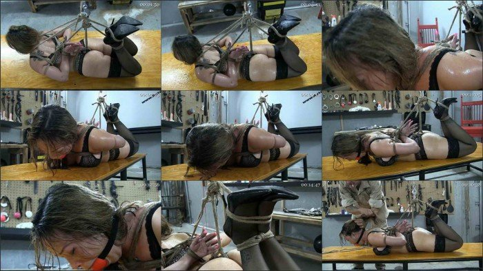 Reverse Prayer Hogtie Part 2 - Commuinication Is Key.m4v