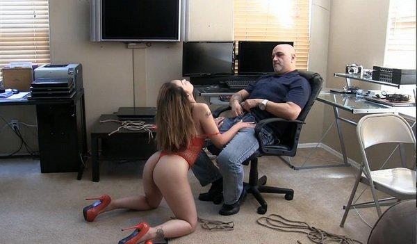Sexting Equals Bondage Part 2 - Throat Check.mp4---