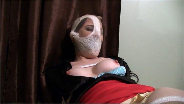 Bondage tied up gagged