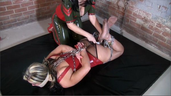 and Yoga heels bondage pants