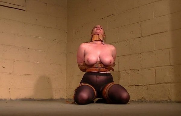 Leather video bondage