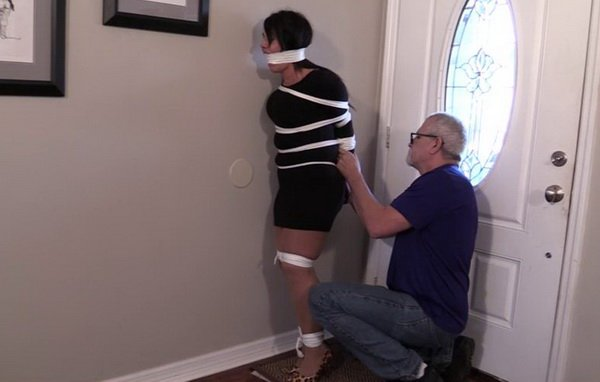 Elane hershey bound and gagged - 1 2