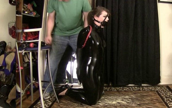 Bondage tube latex image the