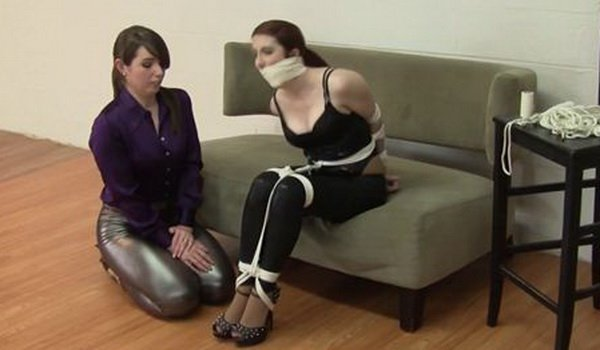 Your place Girl bondage girl video good