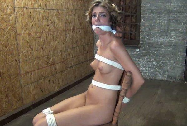 barn girls naked bound
