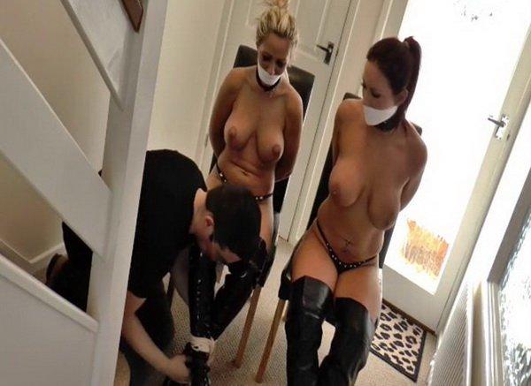 lesbian bondage burglar