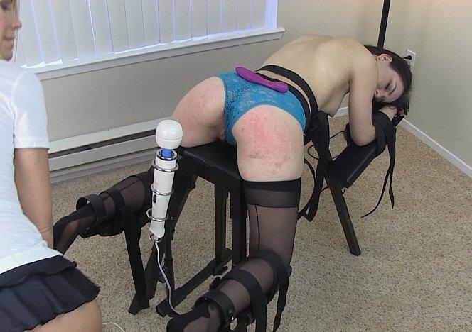 Student caught cheating spanked fucked bondage