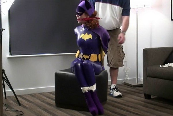 Batgirl bondage stockings photo 265