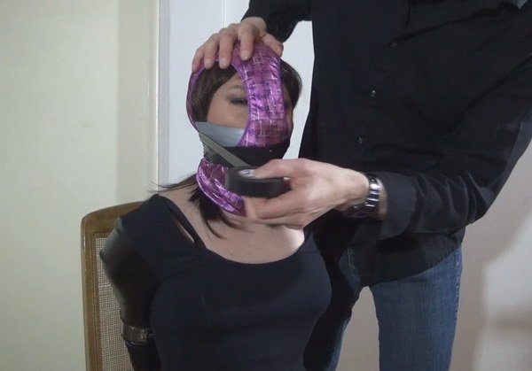 Vivian chen taped gagged 7
