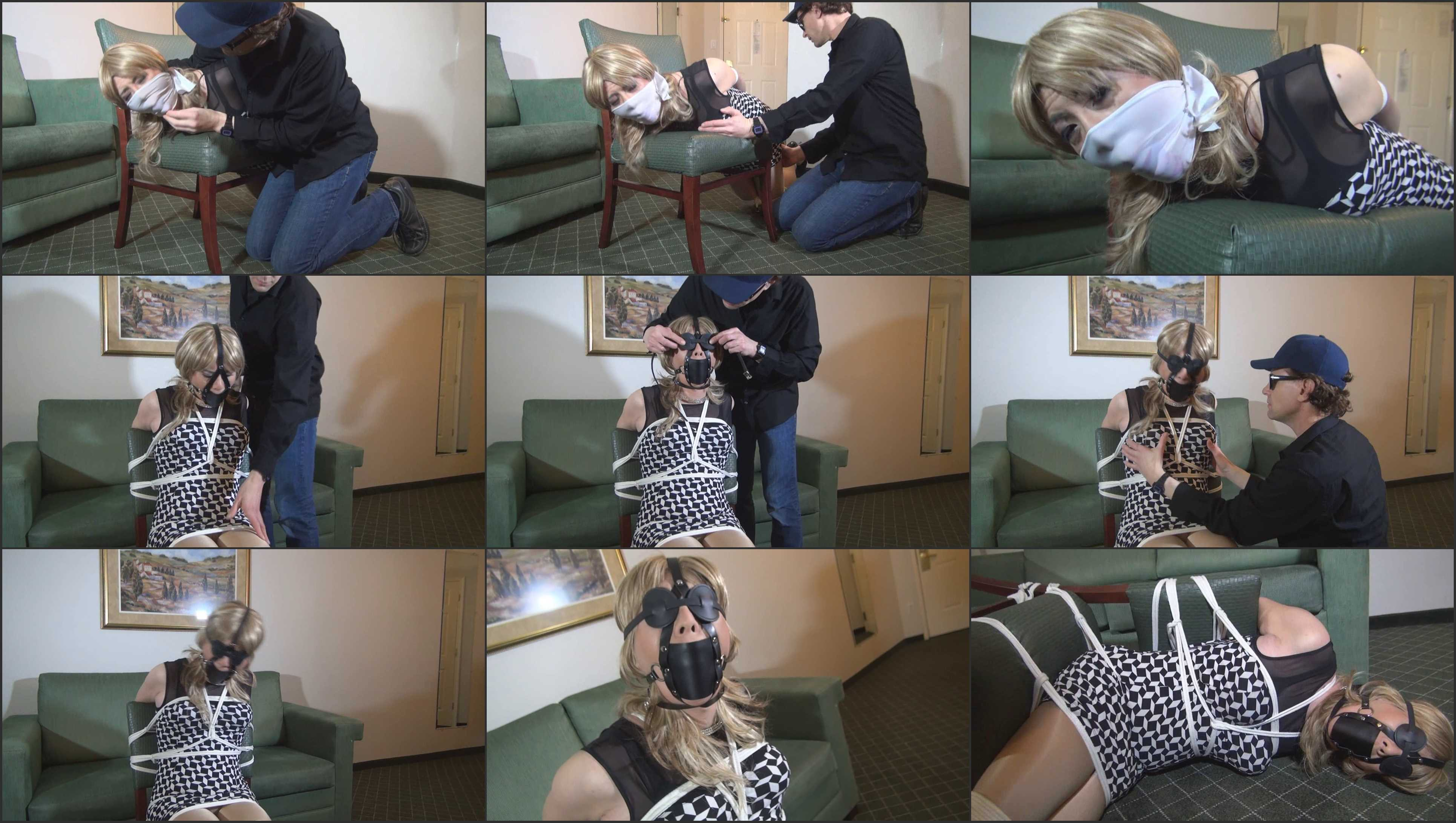 Vivian chen taped gagged 5