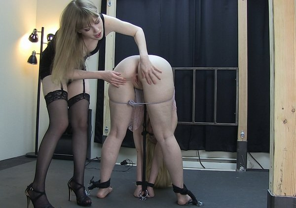 Nude celebs in bondage