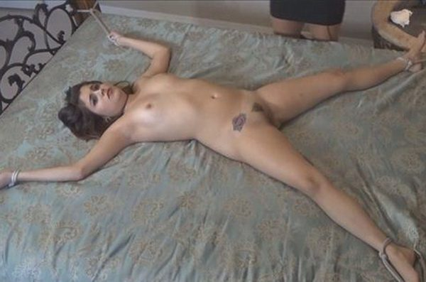 Stripped naked video girls