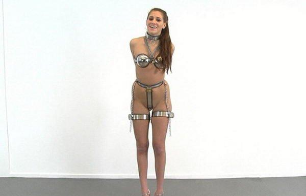 Bondage bra line long