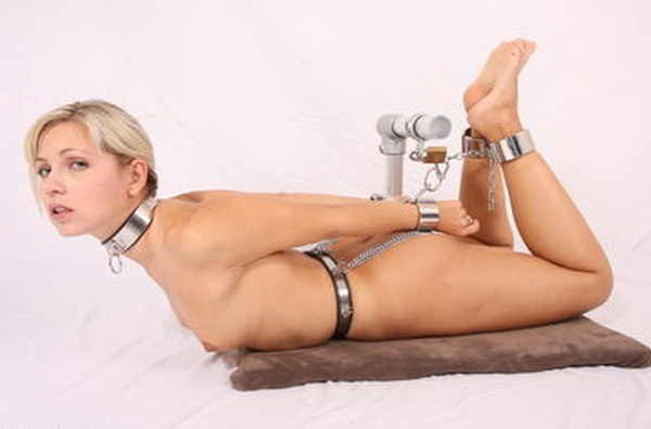 Thought differently, nude female chastity belt bondage your