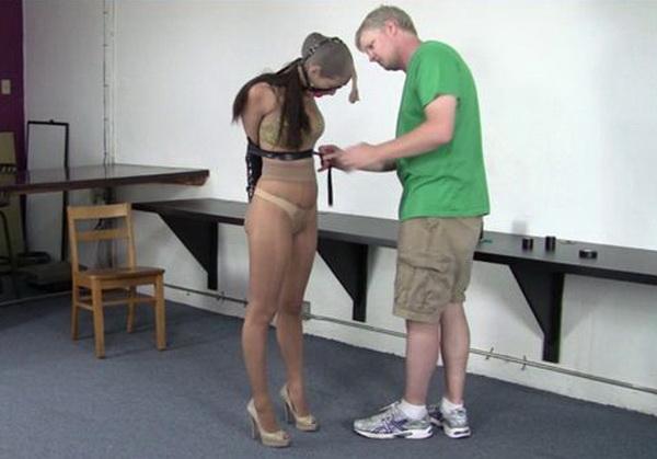 Pantyhose bondage photos