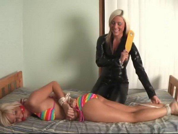 Jenn Bound  Gagged Her Friend Luxe At Bondage Ff -4890