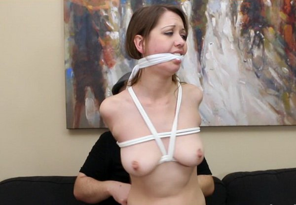 Chrissy Marie Bound, Mouth Packing, Cleave Gagged, Unsafe -1577