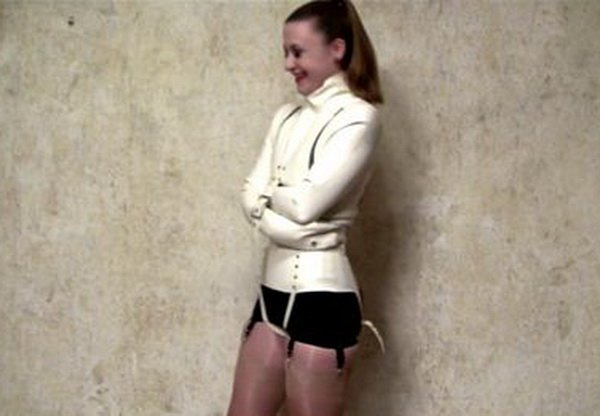 Pantyhose Straitjacket Bondage Hot Girls