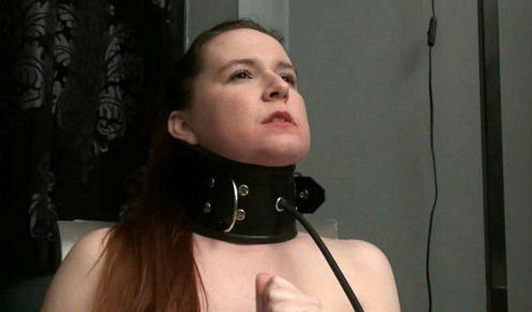 Inflatable Bondage Collar
