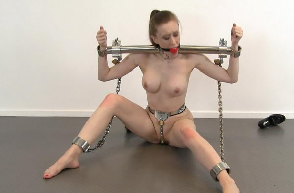 Necessary phrase... nude female chastity belt bondage join. happens