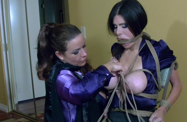 you uneasy domina wraps up her serf were visited simply