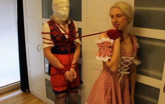 Fötzchen hat femdom hogtie rope challenge videok