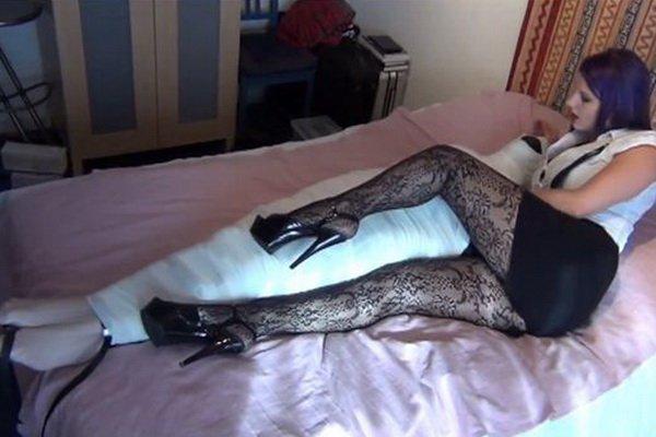 forced full pantyhose encasement