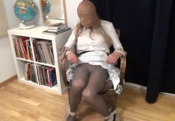 Crossdressers in bondage video pantyhose