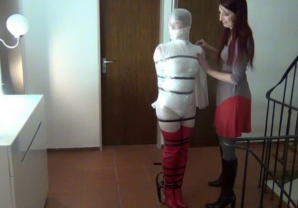 Heavy weight suspension bondage - 2 part 8