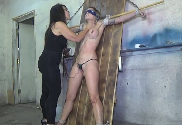 Hot video! Spy girl bondage videos