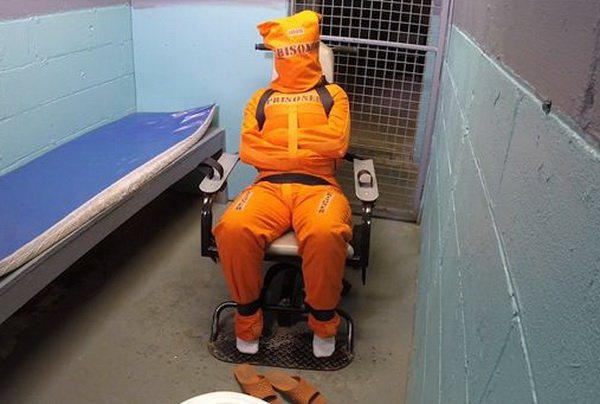 Prison restraints bdsm
