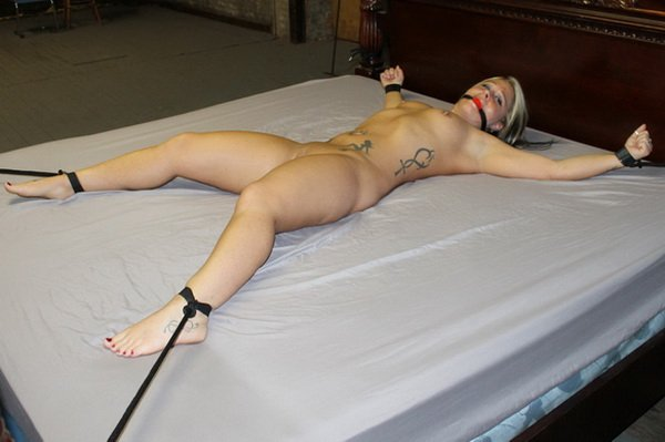 Bound girl made to cum 7