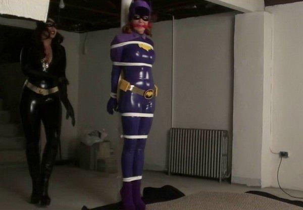 Batgirl bondage stockings photo 41