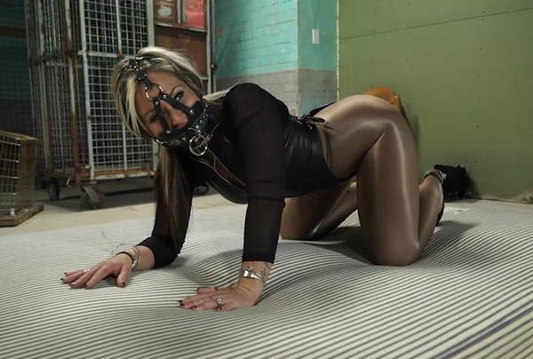 Heavy Metal Bondage, Pervy Parole Officer Put The Hottie -7510