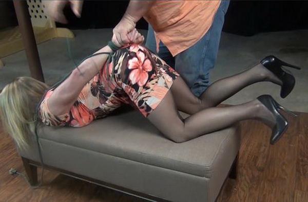 heels nylons hogtied com