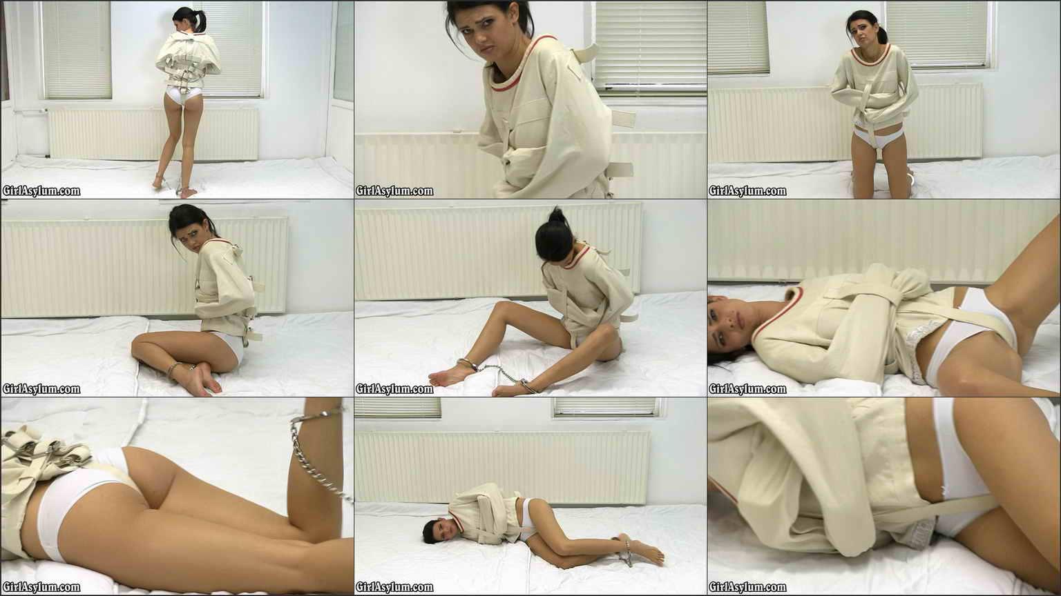 Girl Straitjacket Bondage Porn