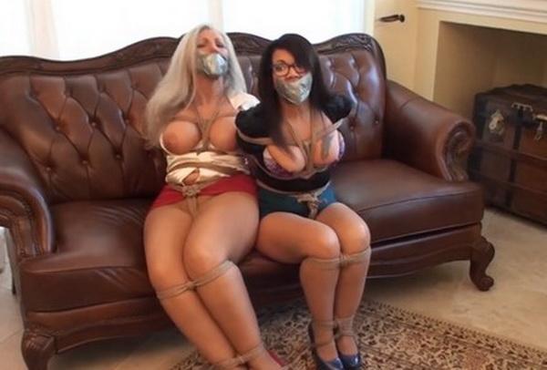 Sandra Silvers  Milf Gigi Bound, Gagged, Exposed, Groped -6557