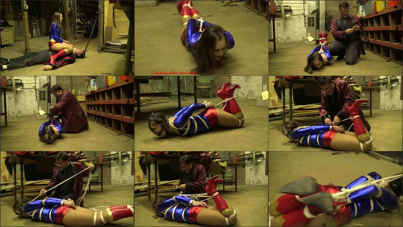 superheroine rachel adams predicament bondage ultragirl