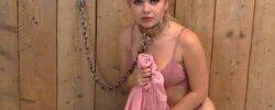 Cuffedteens Leila Rose in a SwedishCollar!